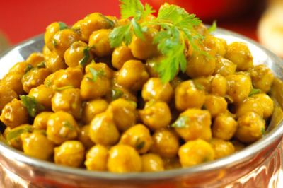 Curry Coconut Chick Peas